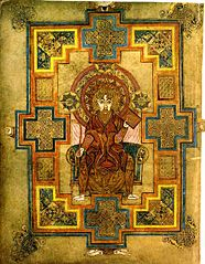 St John the Evangelist from the Book of Kells
